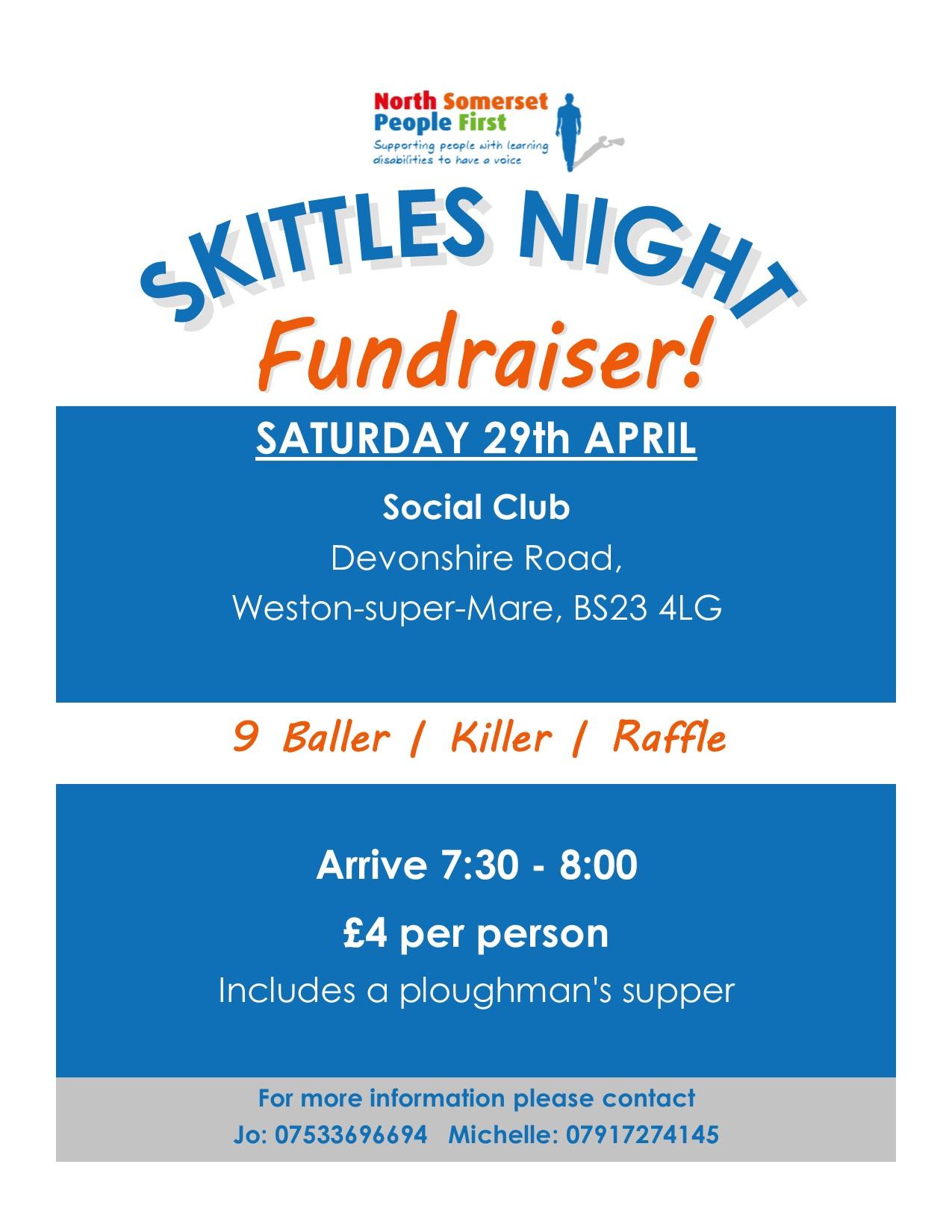 Skittles Fundraiser
