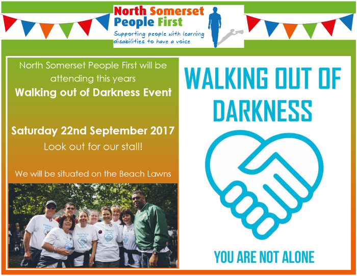 walking out of darkness